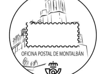 Matasellos turístico de Correos dedicado a Montalbán