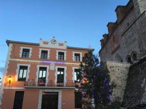 Aspecto del Ayuntamiento después de su restauración